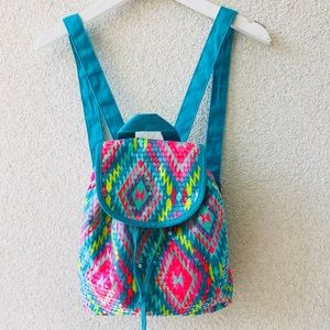 😻 Colorful sequins backpack